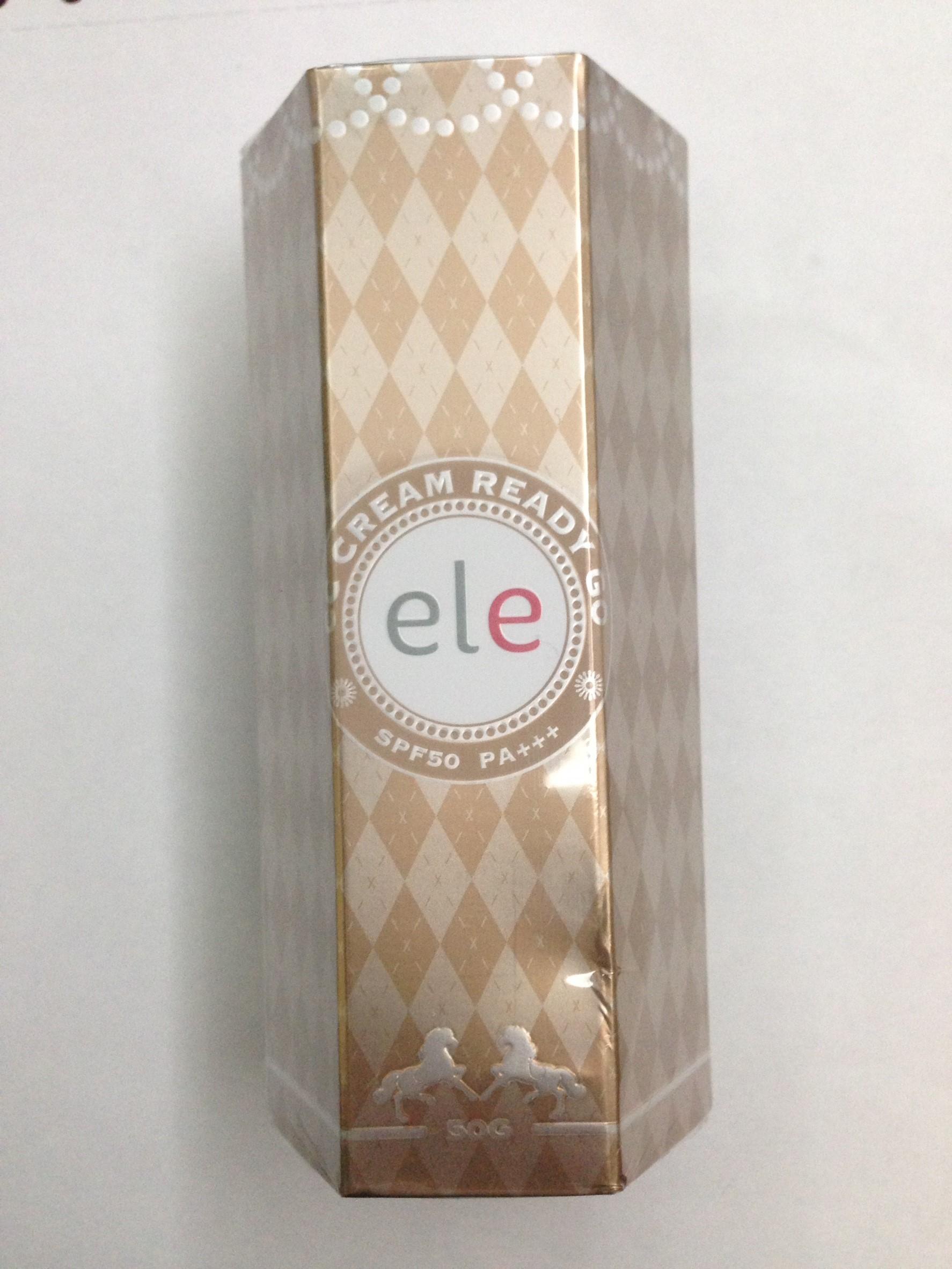 Ele Cream ซีซีครีม SPF50PA+++ รองพื้น ควบคุมมัน กันแดด