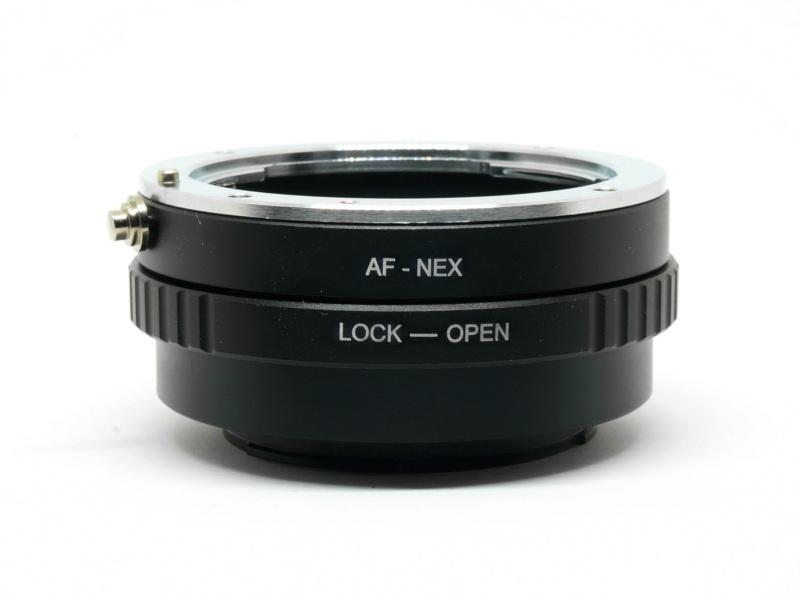 AF-NEX MA-NEX Adapter Sony Minolta A Mount Lens to Sony NEX E FE Camera