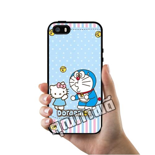 เคส ซัมซุง iPhone 5 5s SE โดเรม่อน คิตตี้ เคสน่ารักๆ เคสโทรศัพท์ เคสมือถือ #1077