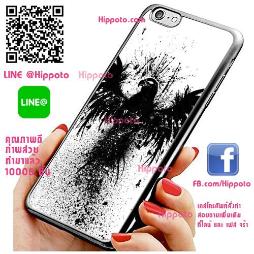 เคส ไอโฟน 6 / เคส ไอโฟน 6s อีกาดำ เคสสวย เคสโทรศัพท์ #1298