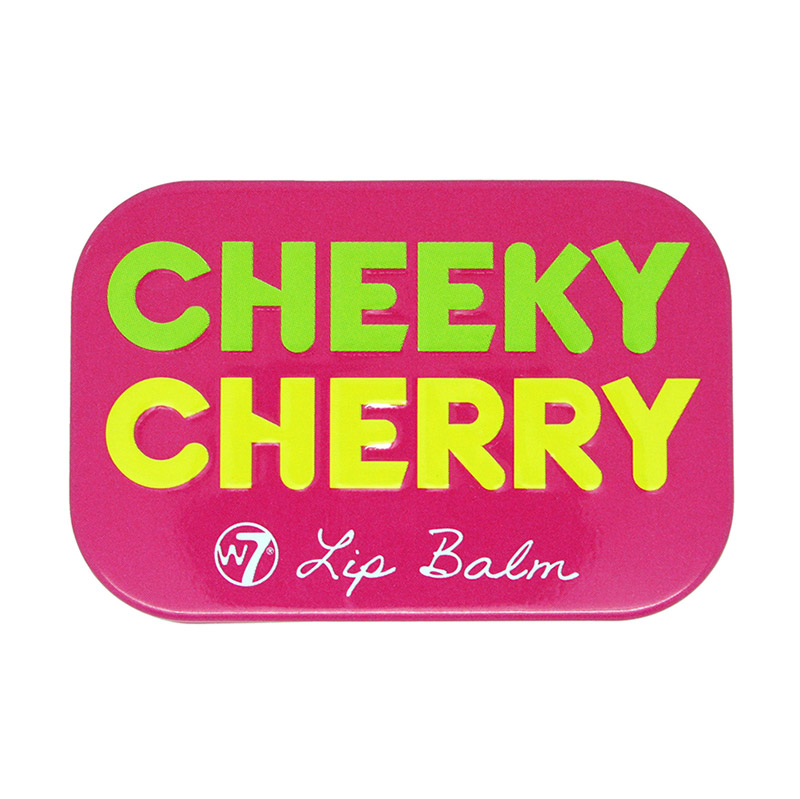 W7 Fruity Lip Balm Tin 12g #Cheeky Cherry