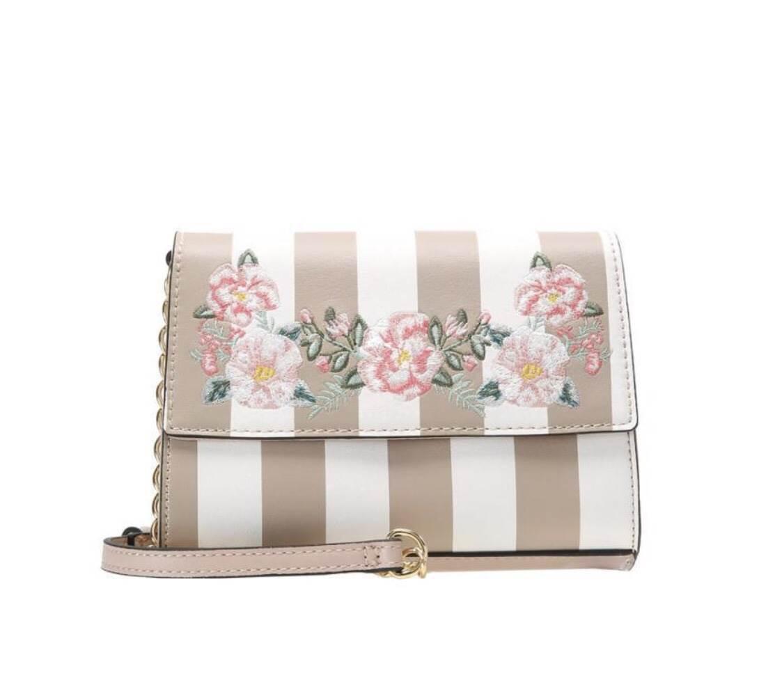 ALDO flower Crossbody Bag *สีเบจ
