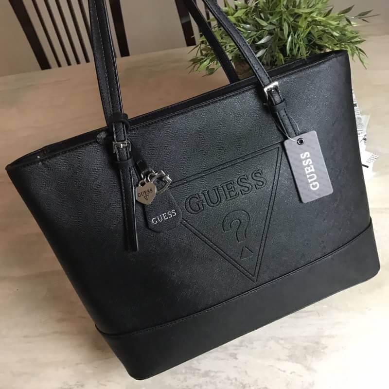 GUESS SAFFIANO SHOPPER BAG
