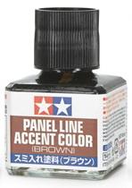 (เหลือ 1 ชิ้น รอเมล์ฉบับที่2 ยืนยัน ก่อนโอน) 87132 Panel Line Accent brown (น้ำตาล)