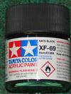 81769 acrylic mini (flat) xf-69 nato black