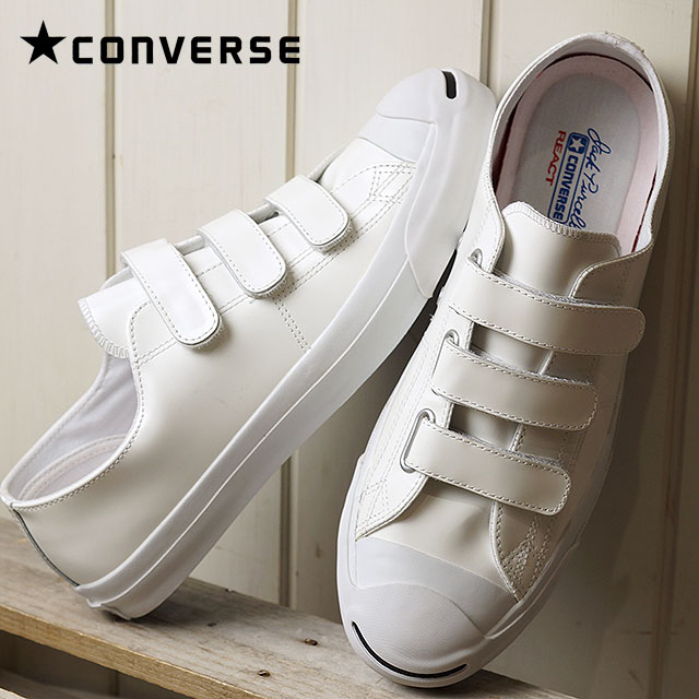 CONVERSE JACK PURCELL V-3 CG LEATHER R - WHITE - Converse Japan ... 15cbae0ee