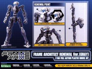 (เหลือ 1 ชิ้น รอเมล์ฉบับที่2 ยืนยัน ก่อนโอน) 10771 Frame Architect Renewal Ver. (Gray) 1200yen