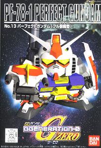 (เหลือ 1 ชิ้น รอเมล์ฉบับที่2 ยืนยัน ก่อนโอน) 2791 GG 13PF-78-1Perfect Gundam 400yen