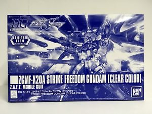(มี1 รอเมลฉบับที่2 ยืนยันก่อนโอนเงิน ) (limited) hg strike freedom (clear color)