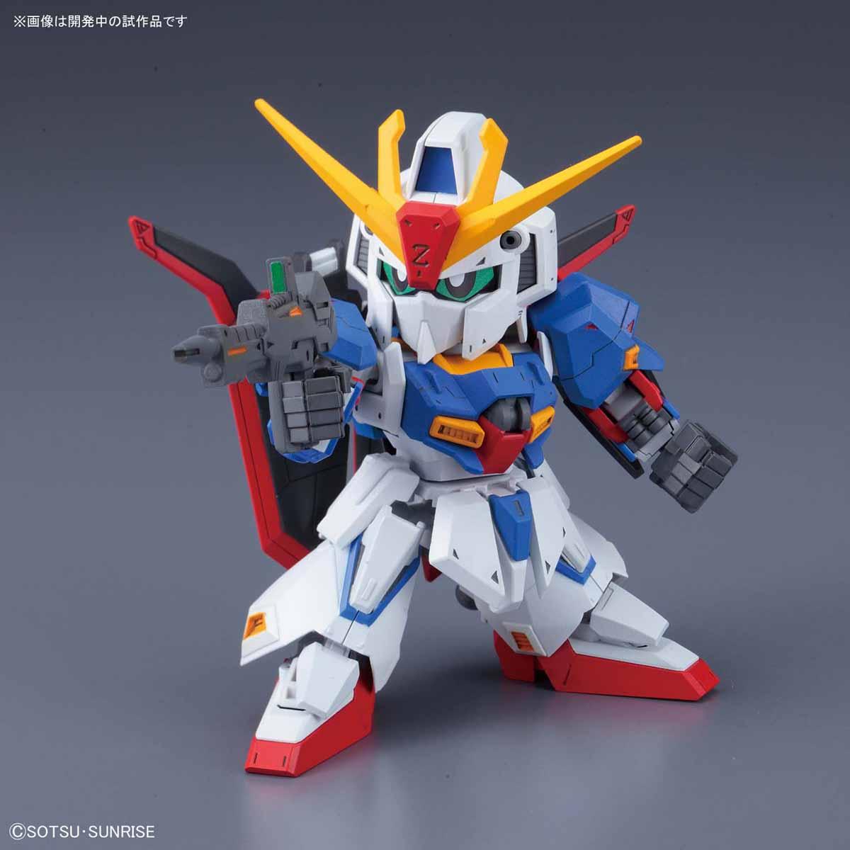 Bandai SD Gundam Cross Silhouette Zeta Gundam SD Gundam Model Kits
