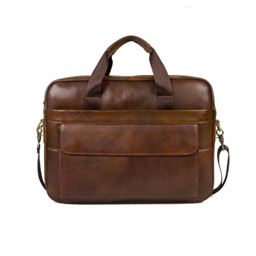 กระเป๋าใส่แล็ปท็อป & โน๊ตบุ๊ค หนังแท้ ขนาด 15 นิ้ว