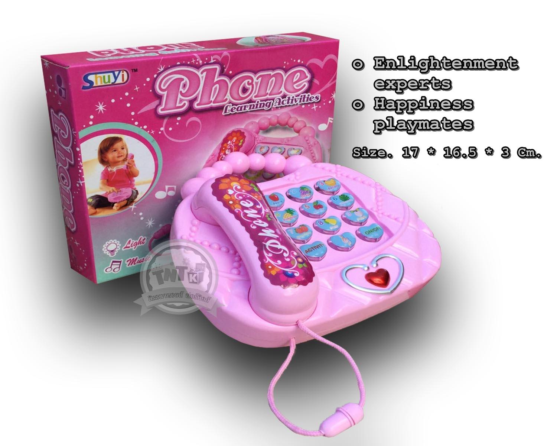โทรศัพท์เสริมทักษะมีเสียงมีไฟ คำศัพท์ English