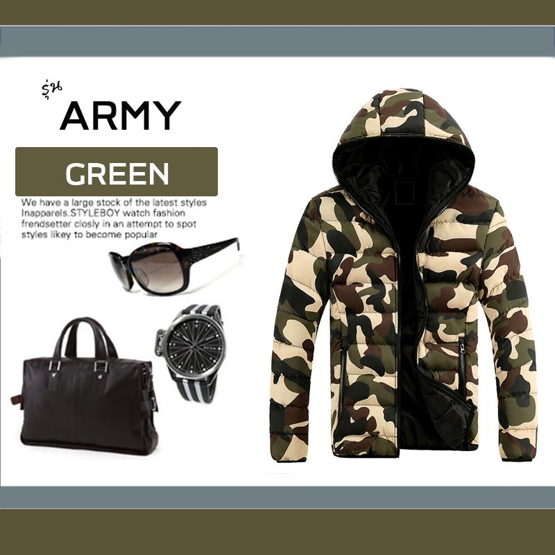 เสื้อกันหนาว ARMY : ลายทหาร เท่ๆ ใส่แล้วหล่อเลย (มีให้เลือกทั้งหมด 2 สี)