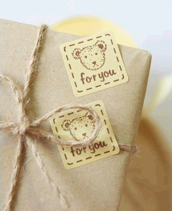 สติ๊กเกอร์แต่งถุงเบเกอรี่ กล่องเบเกอรี่ FOR YOU BAKE103