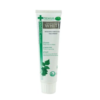 Dentiste' Plus White 100g เดนทิสเต้ ยาสีฟันพรีเมี่ยม แอนด์ เนทเชอรัลไวท์