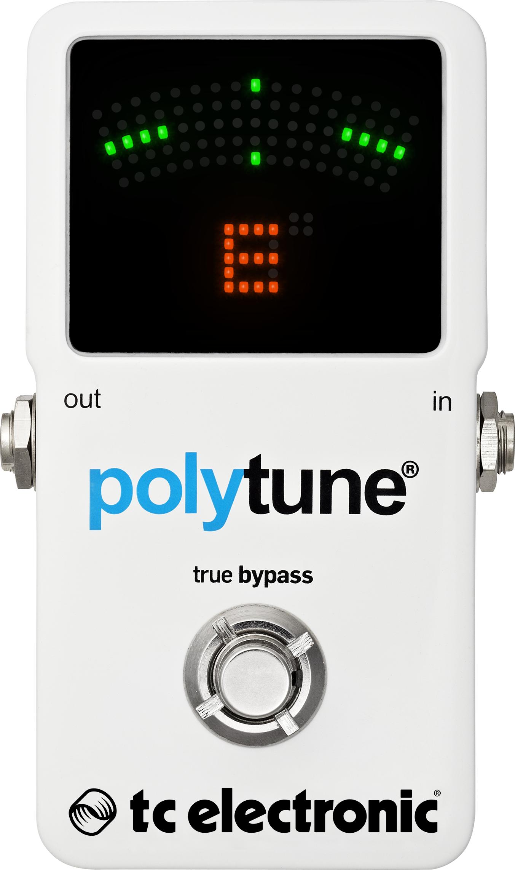 TC Electronic Polytune 2 Chromatic Pedal Tuner