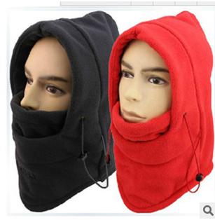 หมวกกันลมหนาว กันหิมะ BIKE281 แดง/ดำ