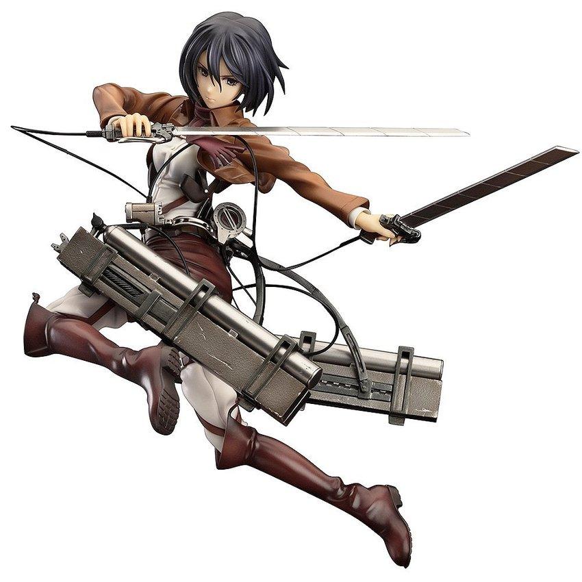 Attack on Titan: Mikasa Ackerman PVC Figure, 1/8 Scale shingeki nokyojin