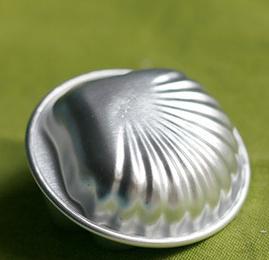 แม่พิมพ์ คัพเค้ก เยลลี่ อลูมิเนียม รูปหอยเชล BAKE281