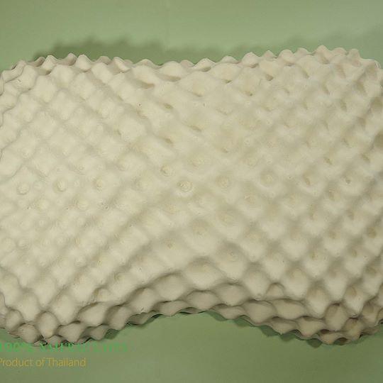 หมอนยางพาราแท้ Sweet Heart (JAC) 39x59x10cm ParcustoLatex 100%