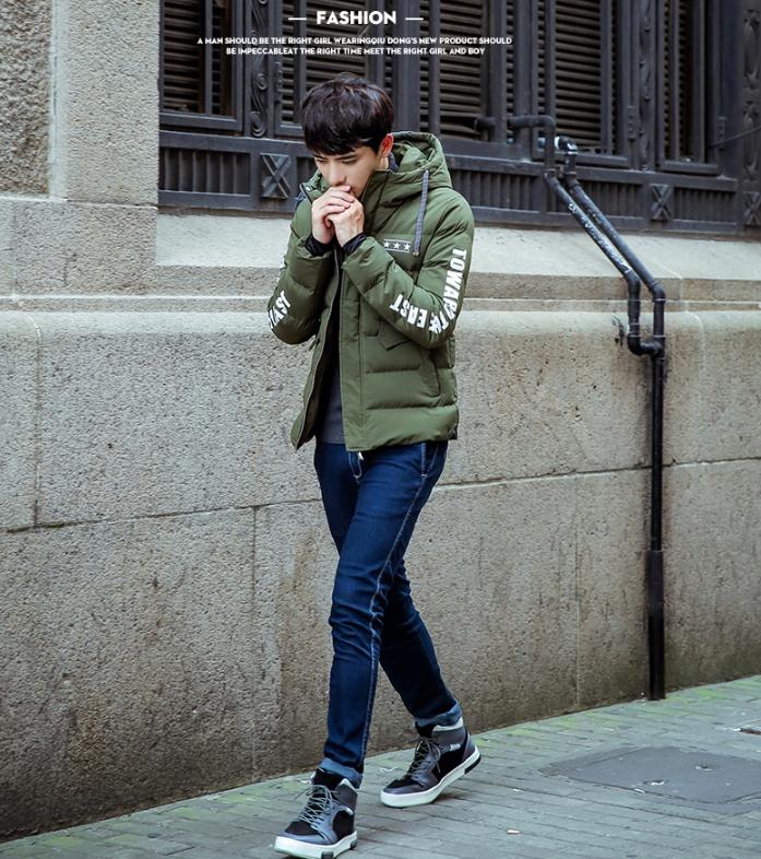 เสื้อกันหนาว Trendy cotton winter jacket 2nd Edition (สีเขียว)