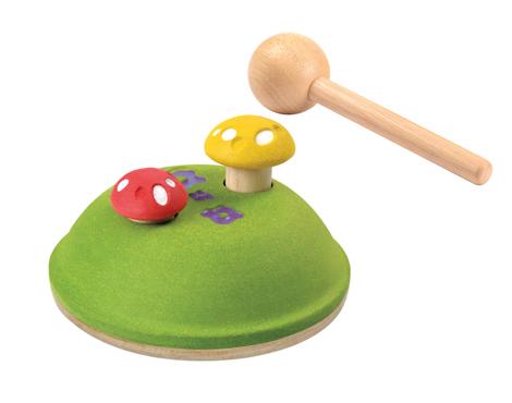ของเล่นไม้ ของเล่นเด็ก ของเล่นเสริมพัฒนาการ Pounding Mushroom (ส่งฟรี)