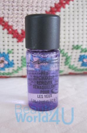 MAC pro long eye makeup remover 6 ml. (ขนาดทดลอง)