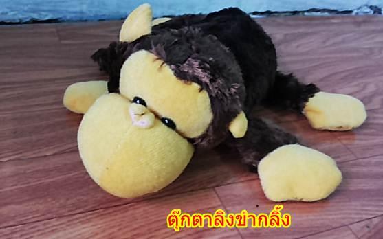 ตุ๊กตาลิงขำกลิ้ง มีเสียง (มาใหม่ล่าสุด) สินค้ามีจำนวนจำกัด