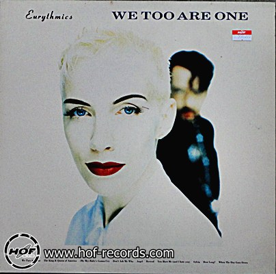 Eurythmics - We too are one 1 LP