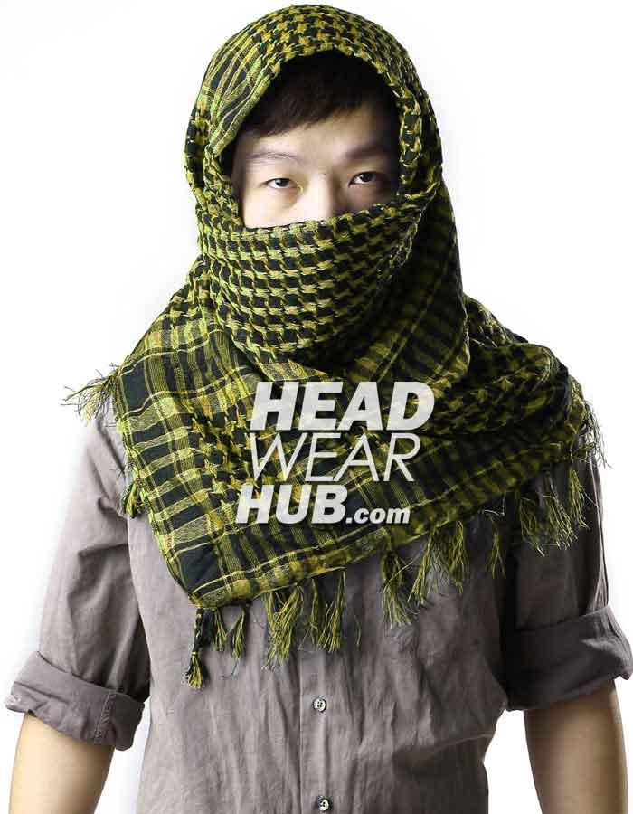 ผ้าพันคอชีมัค : สีเหลือง