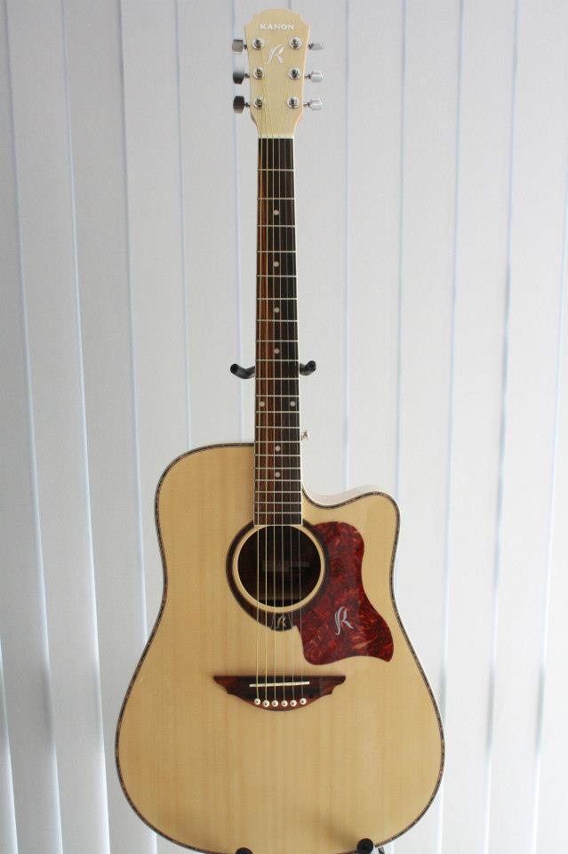 กีต้าร์ Guitar Kanon รุ่น PM18 N ไม้ Spruce
