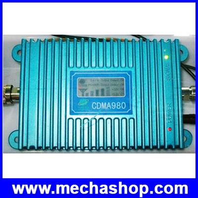 เครื่องขยายสัญญาณมือถือ CDMA Repeater 824-894MHZ แบบมี Display แสดงระดับสัญญาณสำหรับ Dtac/True