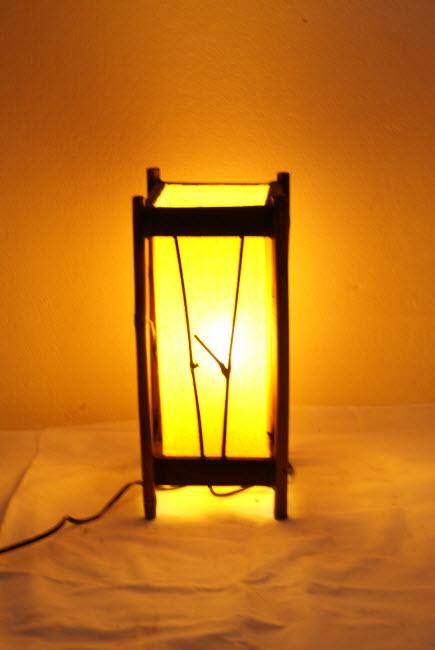 โคมไฟไม้ไผ่ Bamboo Lamp BL-1007