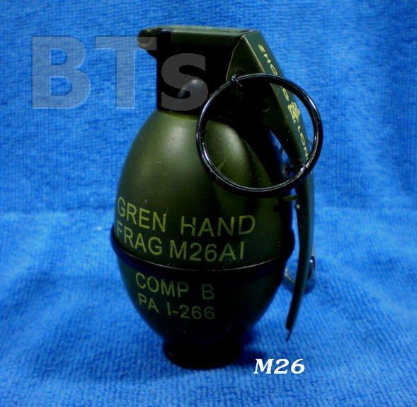 ไฟแช็คพวงกุญแจ ลูกระเบิด M26