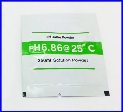 ผงสำหรับละลายน้ำเตรียม calibration buffer PH 6.86 สำหรับเครื่องวัด pH