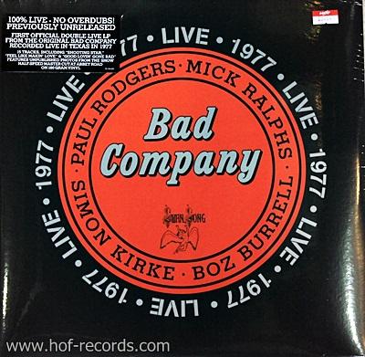 Bad Company - Live 1977 2Lp N.