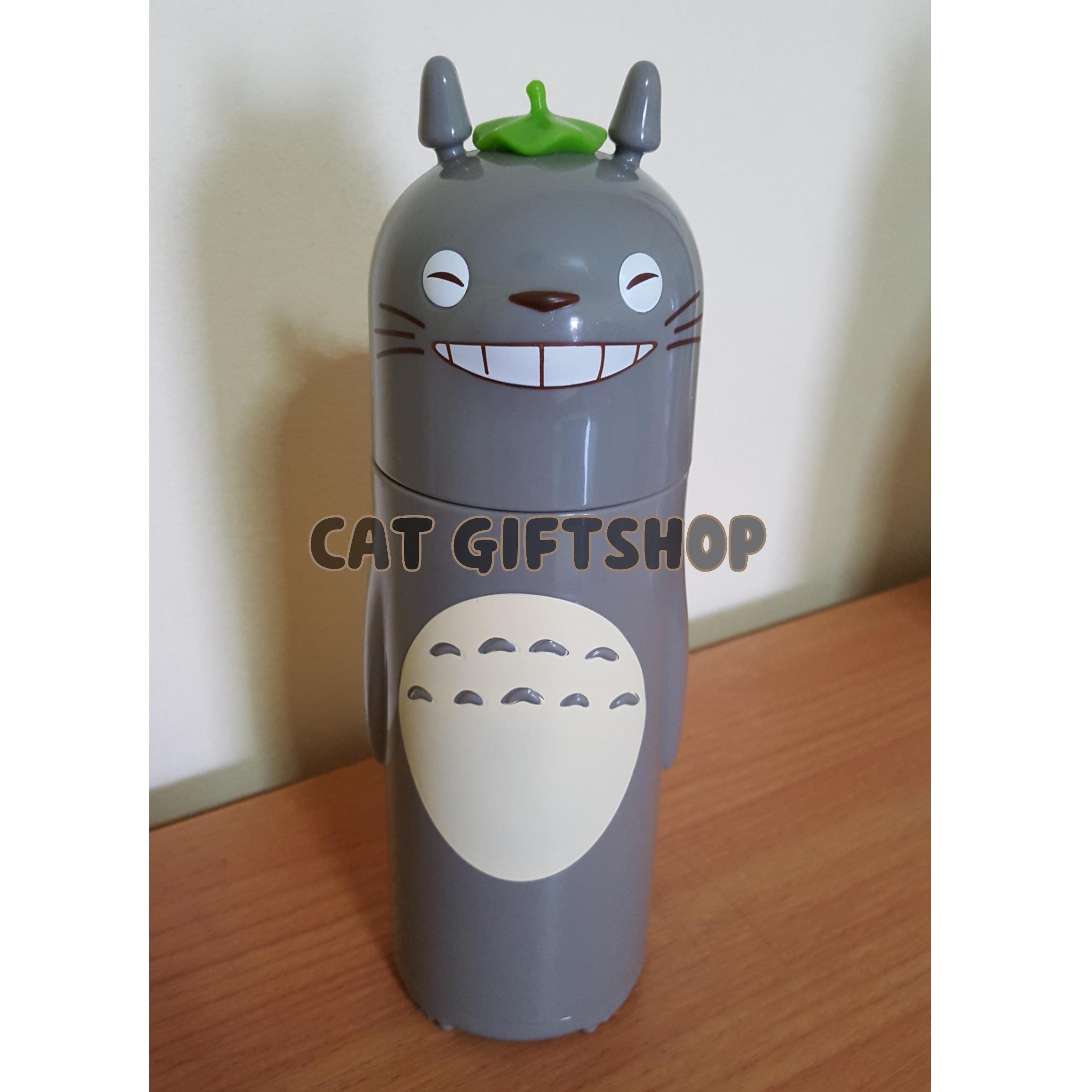 พร้อมส่ง :: กระบอกน้ำร้อน-เย็น Totoro 300 ml.