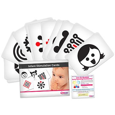 Infant Stimulation Cards แผ่นภาพสำหรับเด็กทารก (ส่งฟรี EMS)