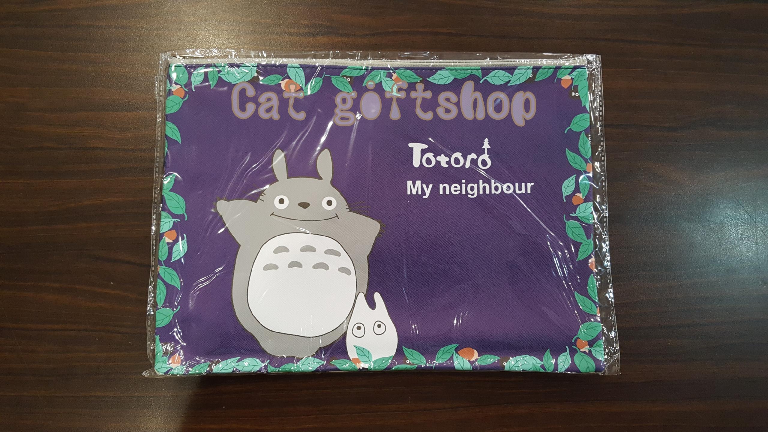 พร้อมส่ง :: กระเป๋าใส่เอกสาร A4 ลาย Totoro3
