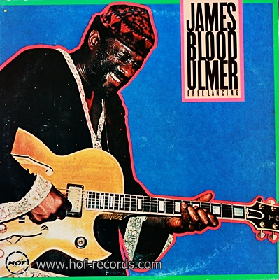James Blood Ulmer - Free Lancing 1981 1lp