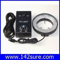 LER006 YK-L64T stereo microscope led ring light 64LED Ring Light Monocular ไมโครสโคป ยี่ห้อ OEM รุ่น YK-L64T