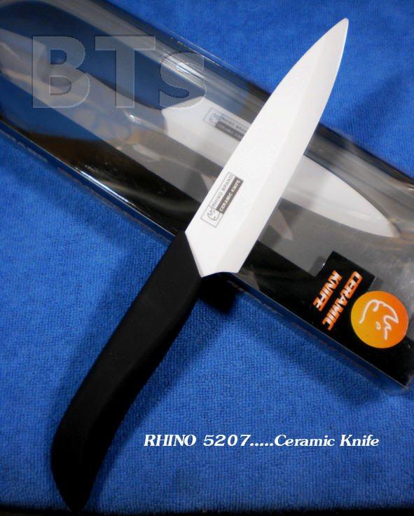 """มีดเซรามิค 5"""" สำหรับประกอบอาหาร Rhino 5207"""
