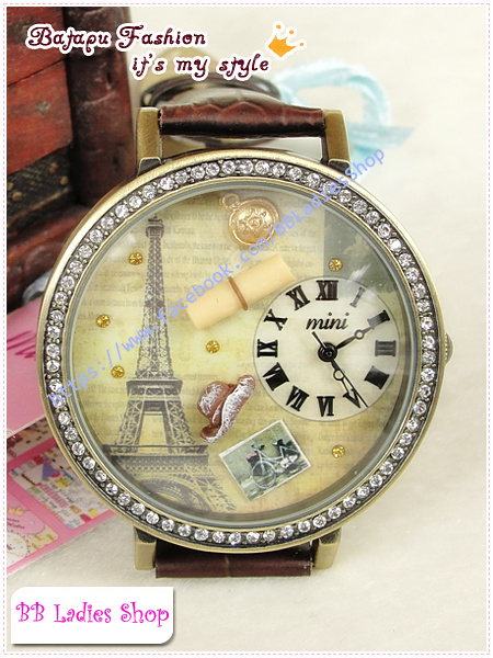 Pre-order: Paris feelings retro Mini watch