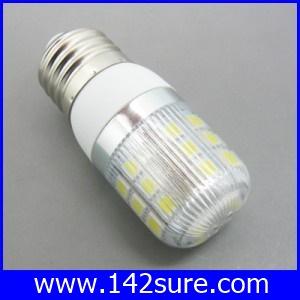 SMD101 หลอดไฟ LED E27- SMD5050 4W 220V 400Lm (แสงสีขาวอมเหลือง อายุการใช้งาน 40,000 ชั่วโมง)