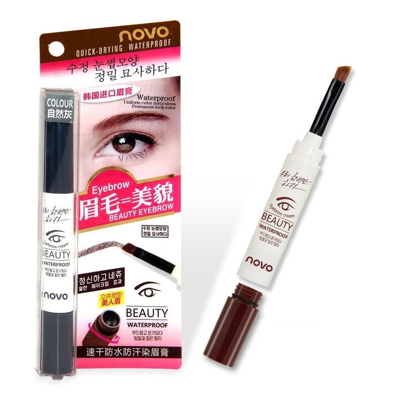 Novo Eyebrow Gel โนโว เจลเขียนคิ้วน้ำสไตล์เกาหลี ราคาปลีก 100 บาท / ราคาส่ง 80 บาท