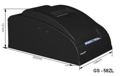 GS-58ZL : เครื่องพิมพ์ใบเสร็จ 58MM thermal Printer ,Receipt printer GS-58ZL Support Driver ESPON,SAMSUNG