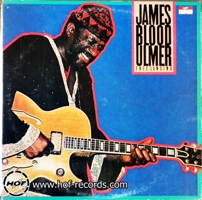 James blood Ulmer - free lancing 1lp