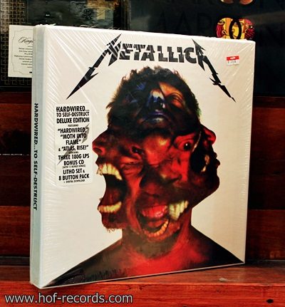 Metallica - Headwired To Self- Destruct Boxset 3Lp , 1Cd N.