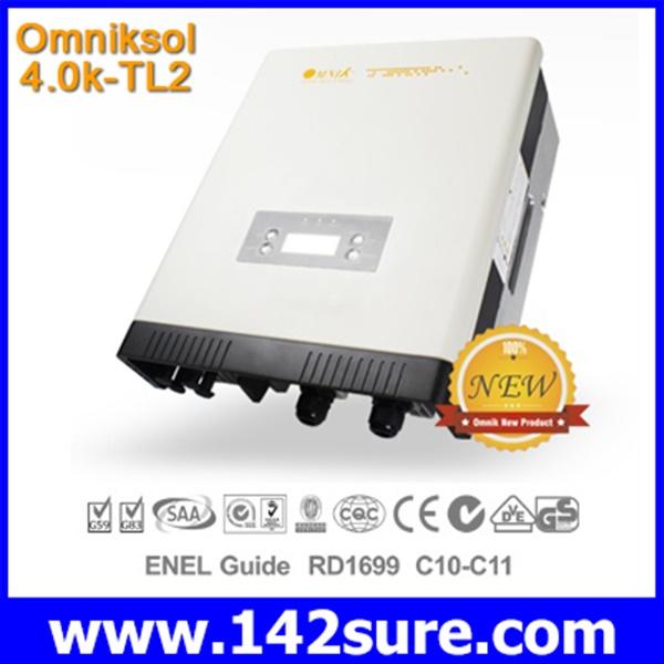 INV009 อินเวอร์เตอร์ โซล่าเซลล์ Solar Inverter Omniksol-4.0k-TL2 PV-Generate Power 4600W เทคโนโลยีจากประเทศเยอรมนี(สินค้า Pre-Order)