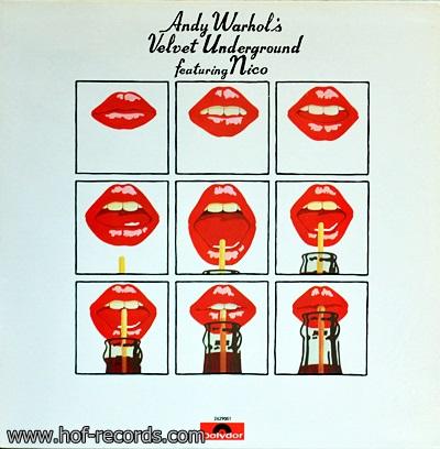 Andy Warhol's Velvet underground - Featuring Nico 2Lp